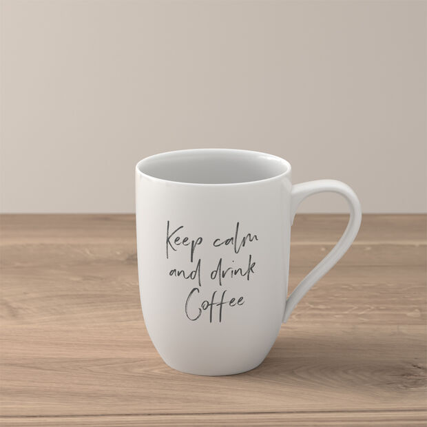 """Statement kubek """"Keep calm and drink coffee"""", , large"""