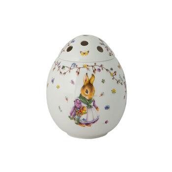 Spring Fantasy wazon w kształcie jajka Emma i Paul, 21 cm, kolorowy