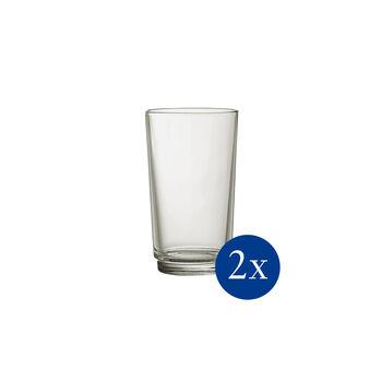 like by Villeroy & Boch it's my match zestaw szklanek do long drinków mineral, zielony, 8 x 14 cm, 2-częściowy