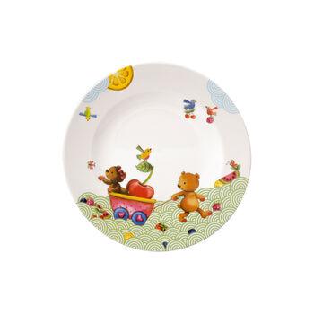 Hungry as a Bear Talerz obiadowy 21,5x21,5x1,5cm