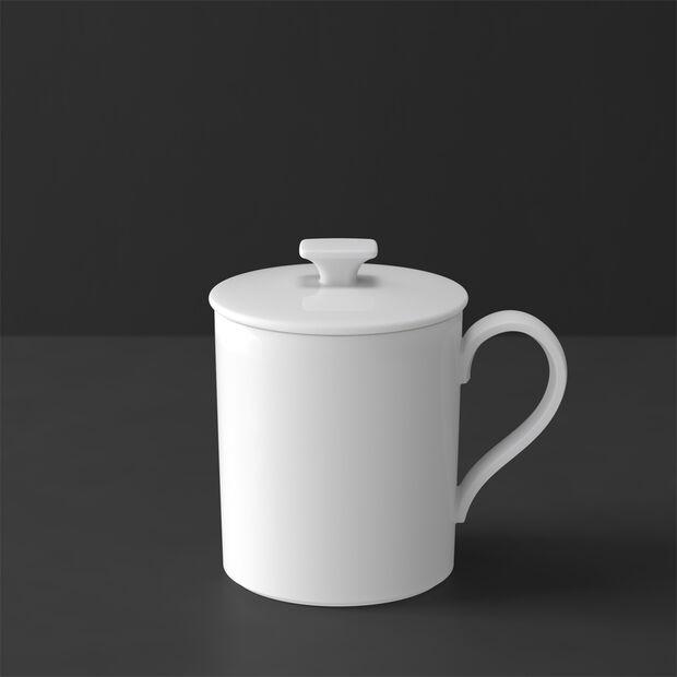 MetroChic blanc Gifts Kubka z pokrywką 11,5x8,5x11cm, , large