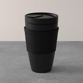 Manufacture Rock kubek do kawy To Go, 350 ml, czarny matowy