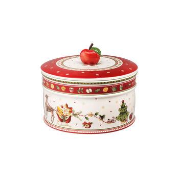 Winter Bakery Delight Pudełko na ciastka L 13x17cm