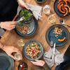 Crafted Breeze talerz śniadaniowy, szaroniebieski, 21 cm, , large