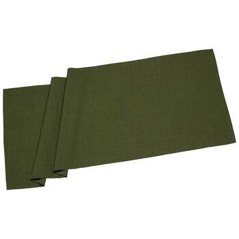 Textil Uni TREND bieżnik ciemno zielony 50x140cm