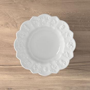 Toy's Delight Royal Classic głęboki talerz, biały, 332 ml