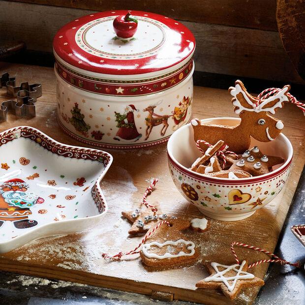 Winter Bakery Delight Pudełko na ciastka L 13x17cm, , large