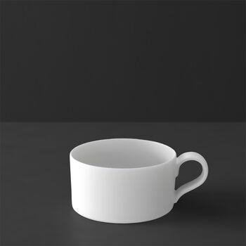 MetroChic blanc filiżanka do herbaty, 230 ml, biała