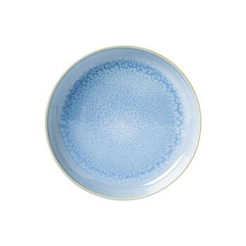 Crafted Blueberry talerz głęboki, turkusowy, 21,5 cm
