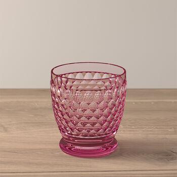Boston Coloured Szklanka do wody/koktajli różowa