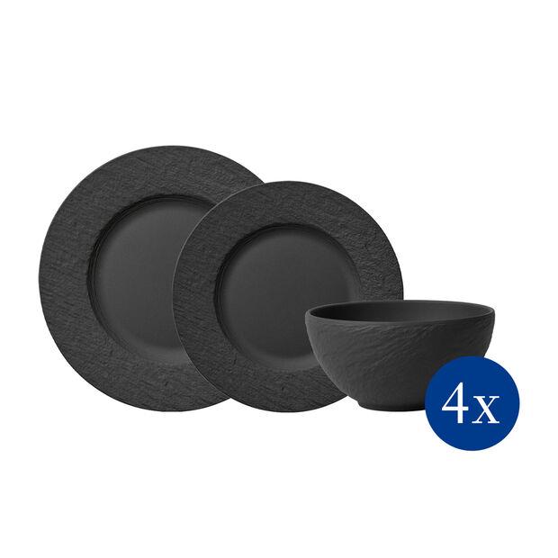 Manufacture Rock Zestaw talerzy, 12-cz., dla 4os., , large