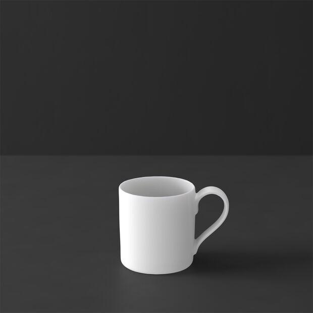 MetroChic blanc filiżanka do mokki i espresso, 80 ml, biała, , large