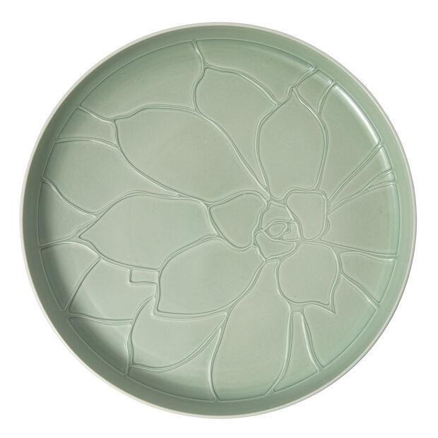 it's my home taca Socculent, 34cm, zielony/biały, , large