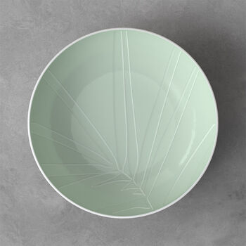 it's my match miska do serwowania Leaf, 26x6,5 cm, mineralna zieleń