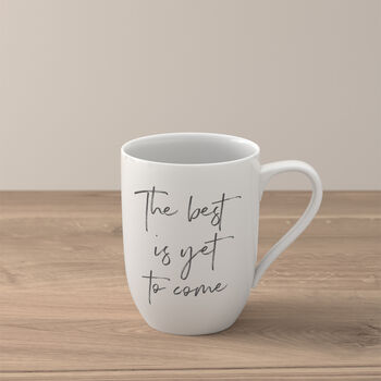 """Statement kubek """"The best is yet to come"""""""