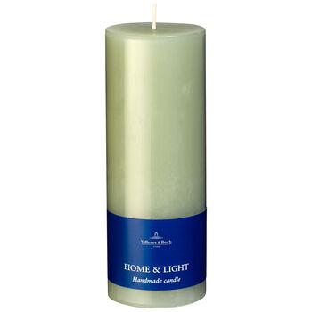 Essential Candles Fog Green Pillar 7x19 7x19cm