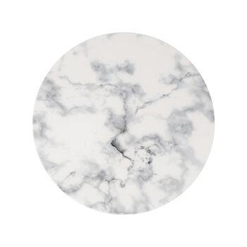 Marmory talerz płaski White, 27x27x1,5cm