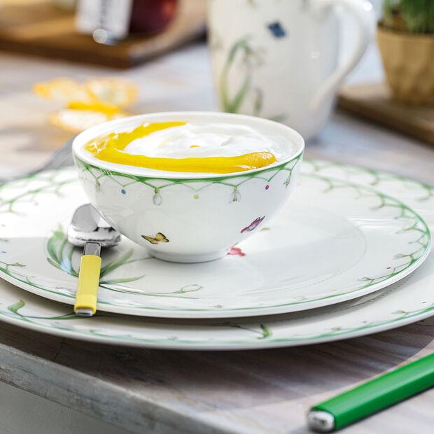 Colourful Spring duża miska, biały/zielony, , large