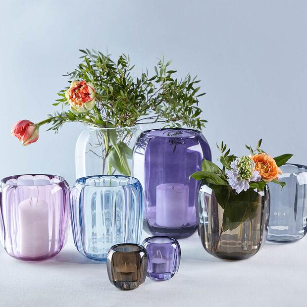 Coloured DeLight szklany świecznik Winter Sky, , large