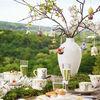 Mini Flower Bells porcelanowa zawieszka żonkil zestaw 2 szt., , large