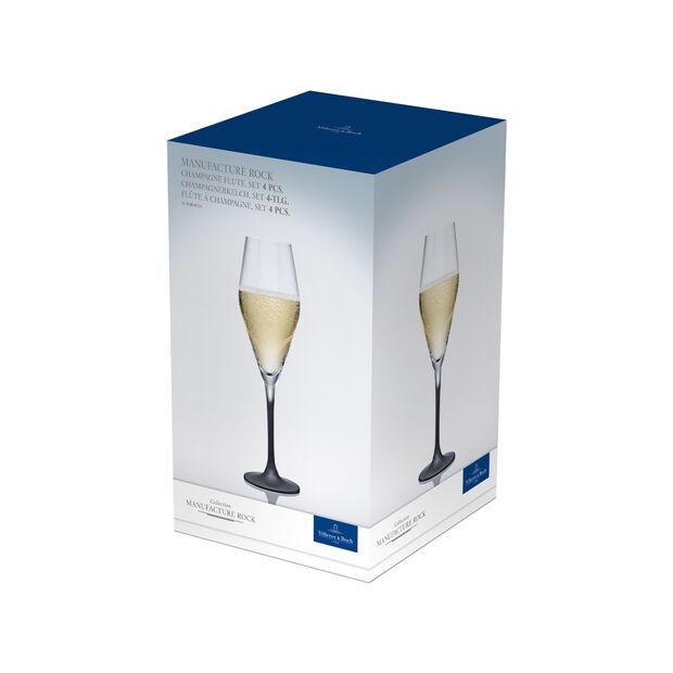 Manufacture Rock kieliszek do szampana, 4 szt., 260 ml, , large