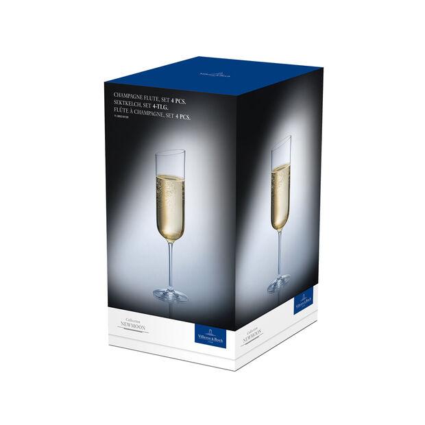 NewMoon zestaw kieliszków do szampana, 170 ml, 4-częściowy, , large