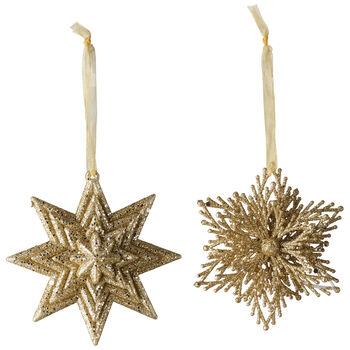 Christmas Decoration Ozd.wisz.gw./sn.zl.2-cz. 10cm