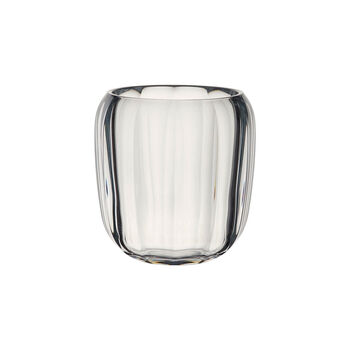 Coloured DeLight bezbarwny szklany świecznik