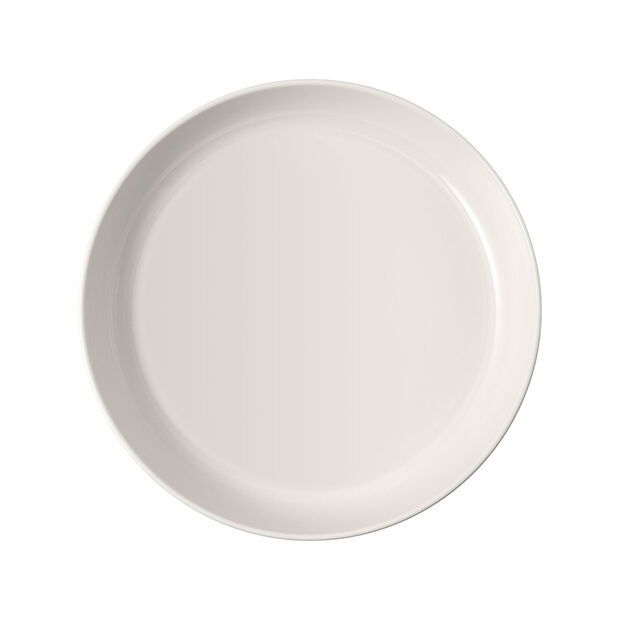 Iconic płytka miska, biała, 24 x 4 cm, 1,1 l, , large