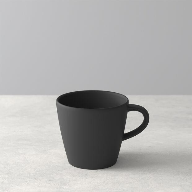 Manufacture Rock filiżanka do kawy, czarny/szary, 10,5 x 8 x 7,5 cm, , large