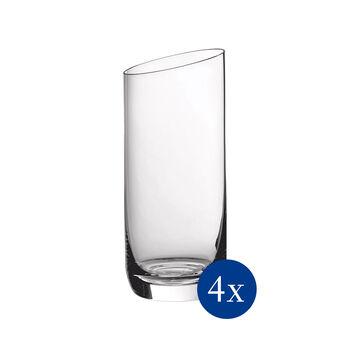 NewMoon zestaw szklanek do long drinków, 370 ml, 4-częściowy