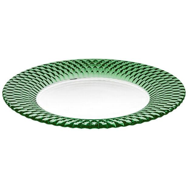 Boston Coloured talerz baza, zielony, 32 cm, , large