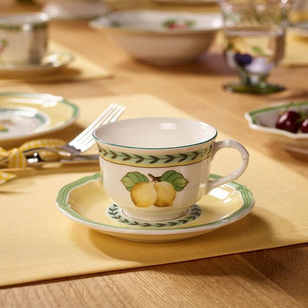 French Garden Fleurence Spodek do filiżanki do kawy/herbaty, , large
