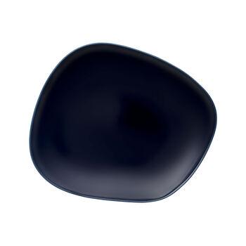 Organic Dark Blue talerz śniadaniowy 28 x 24 x 3cm