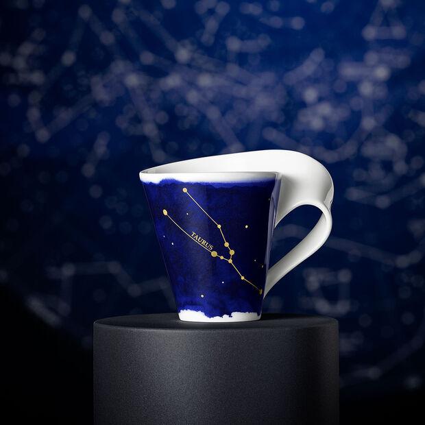 NewWave Stars kubek Byk, 300 ml, niebieski/biały, , large