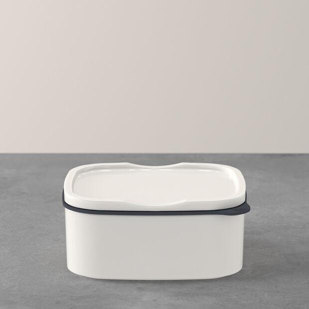 ToGo&ToStay pojemnik na lunch, 13x10x6 cm, prostokątny, biały, , large