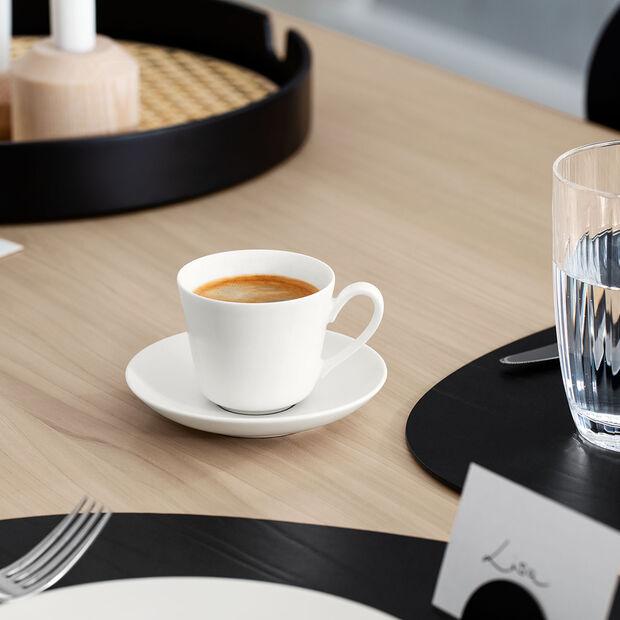Twist White Filiżanka do espresso ze spod. 2 szt., , large