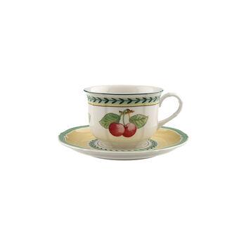 French Garden Fleurence zestaw do cappuccino 2-częściowy