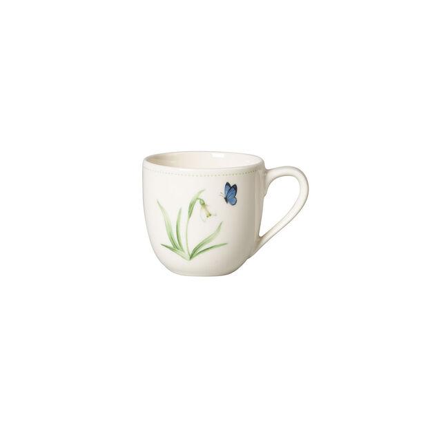 Colourful Spring filiżanka do espresso, 100 ml, biały/zielony, , large