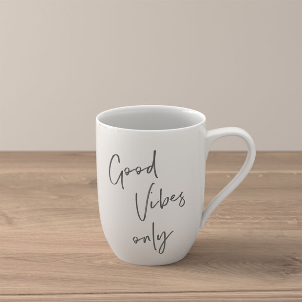 """Statement kubek """"Good Vibes only"""", , large"""