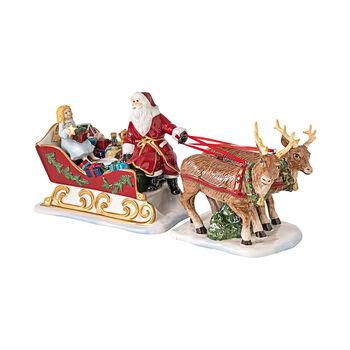 Christmas Toys sanie nostalgia, 36 x 14 x 17 cm