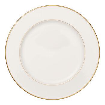 Anmut Gold okrągły półmisek, średnica 32 cm, biały/złoty