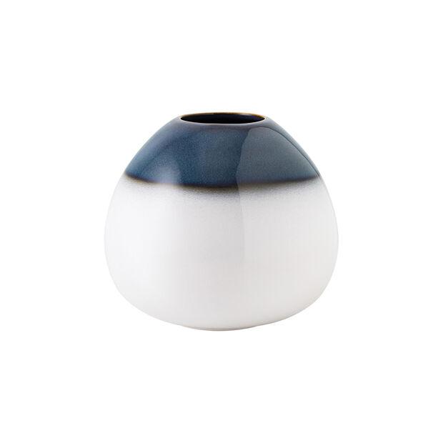 Lave Home wazon Egg Shape, 14,5x14,5x13 cm, Bleu, , large