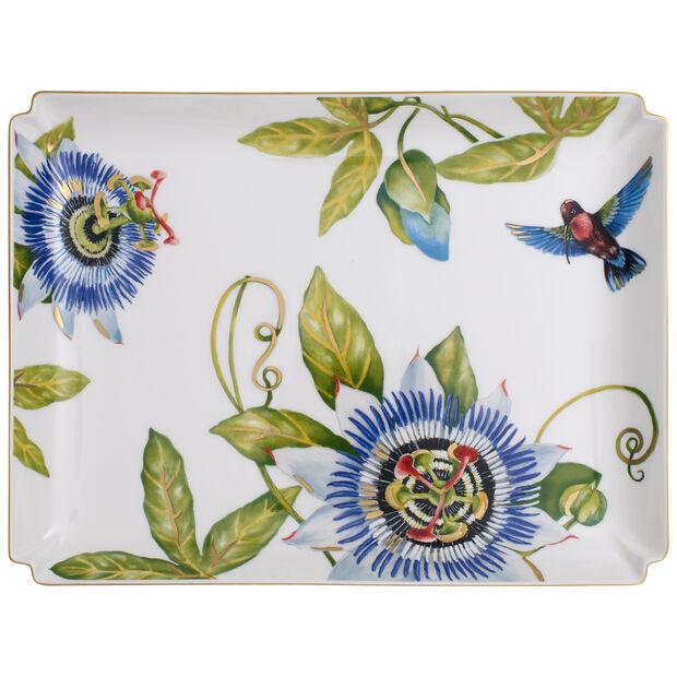 Amazonia Gifts duży talerz dekoracijny 28x21cm, , large