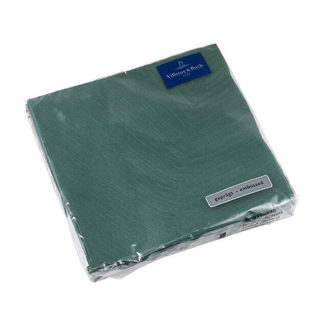 like by Villeroy & Boch Serwetki papierowe it's my match green leaf Lunch, 20 sztuk, 33 x 33 cm, , large
