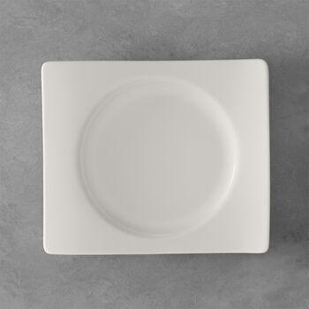 NewWave prostokątny talerz śniadaniowy 24 x 22 cm