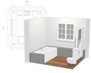 Planer łazienki 3d Zaaranżuj Online Swoją Wymarzoną