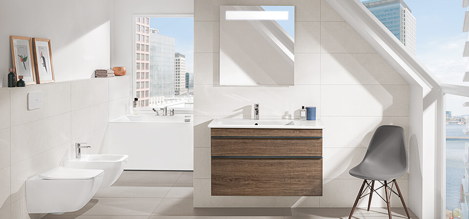łazienka Ze Skosem Pomysłowe Wykorzystanie Przestrzeni Villeroy