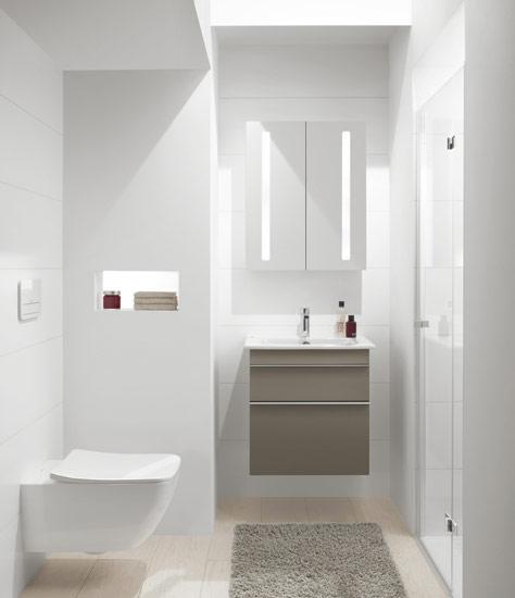 Profesjonalna Aranżacja Oświetlenia łazienkowego Villeroy