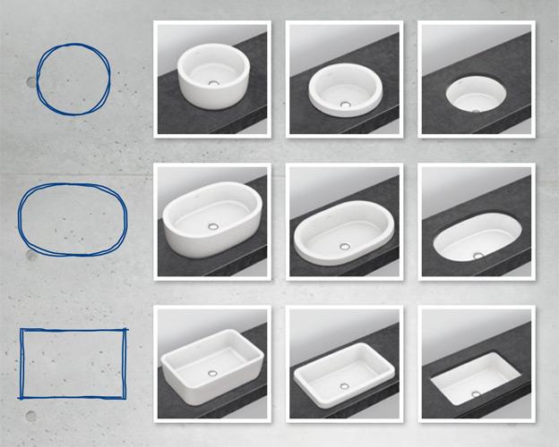 kolekcja architectura ponadczasowe wzornictwo villeroy. Black Bedroom Furniture Sets. Home Design Ideas